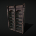 old_wooden_bookshelf
